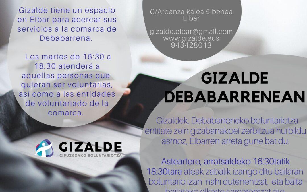 La atención presencial de Gizalde en Eibar en marcha
