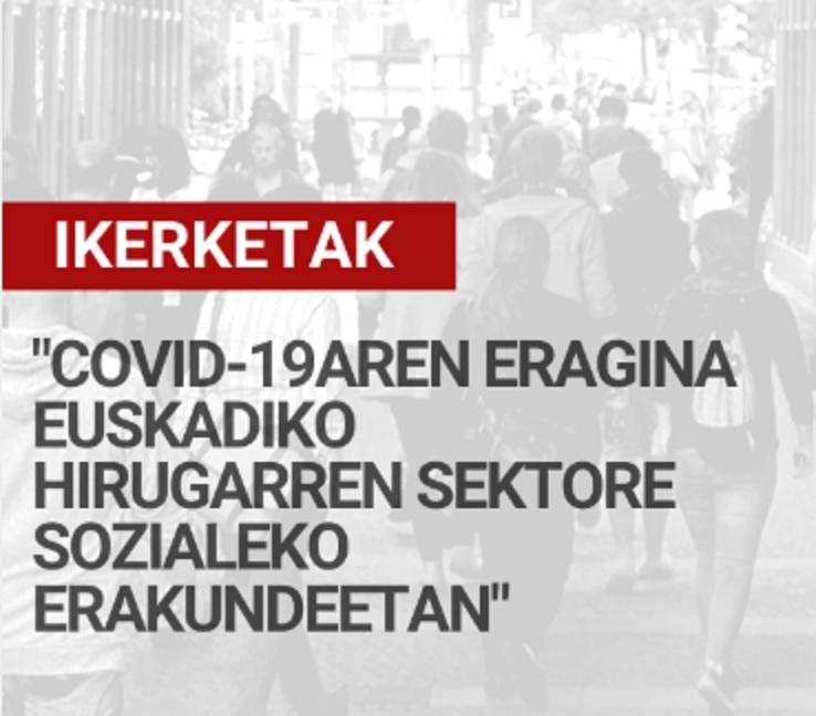 Covid-19aren eragina Euskadiko Hirugarren Sektore Sozialeko erakundeetan