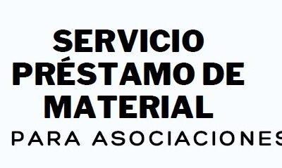 ¿Conoceis el servicio de préstamo de material para asociaciones que ofrece Gizalde?
