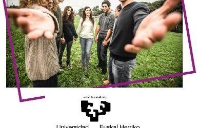EHU abre el plazo de reconocimiento de créditos optativos por actividades solidarias y de cooperación (Voluntariado).