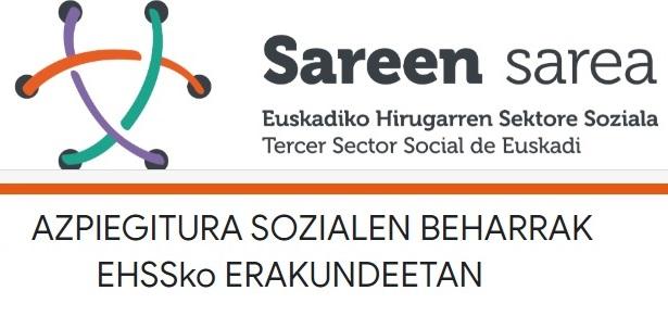 Euskadiko Hirugarren Sektore Sozialeko erakundeek dituzten azpiegitura sozialen beharren inguruko inkesta