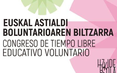 Congreso de Tiempo Libre educativo voluntario (28 de noviembre).