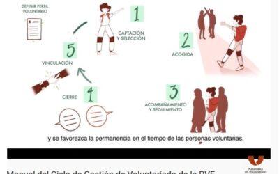 Espainiako Boluntariotzaren Plataformak bideo bat kaleratu du Boluntariotzaren Kudeaketa Zikloa azaltzeko